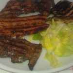 Grigliata di suino iberico e verdure