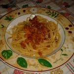 Linguine salsiccia e zucca