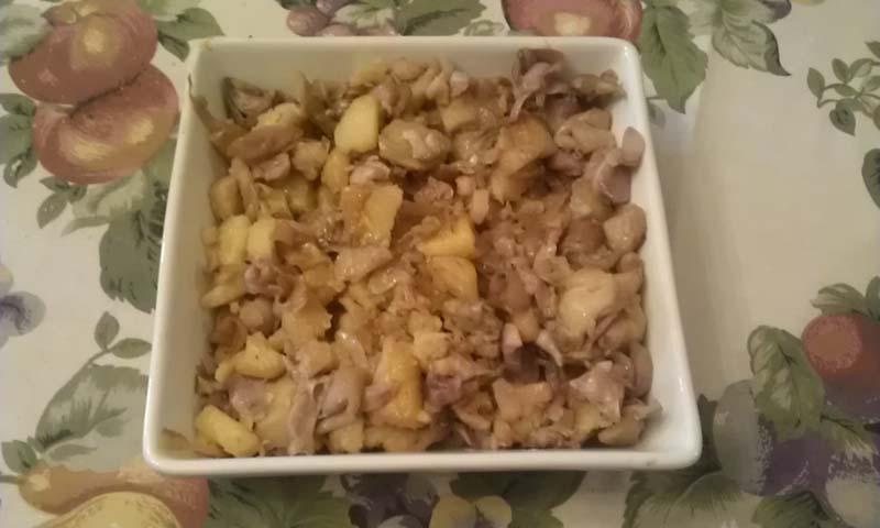 Cipolline selvatiche e patate
