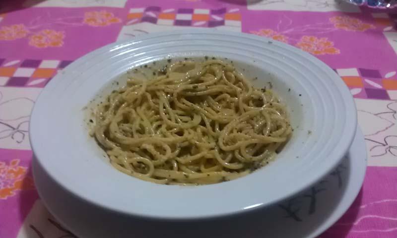 spaghettipesto