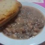 Zuppa di fagioli con pancetta