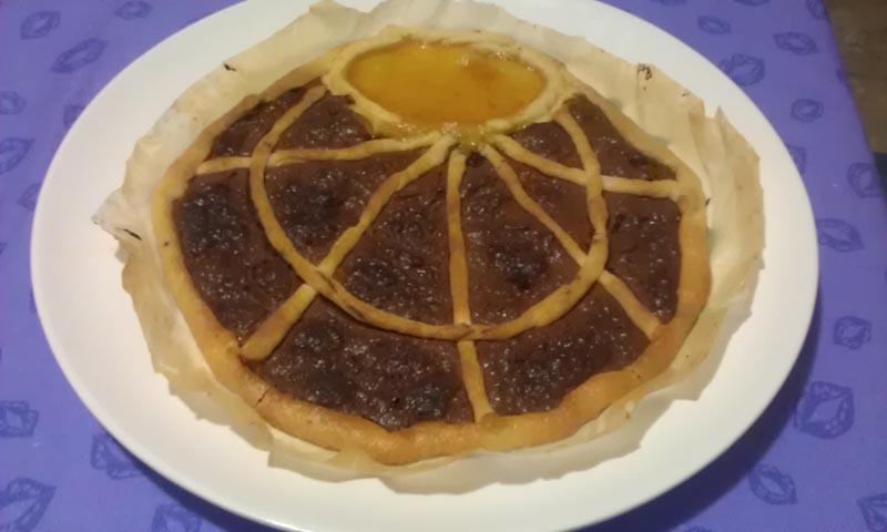 Crostata di nutella e marmellata
