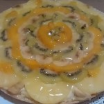 Torta alla frutta con crema pasticcera