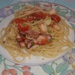 Spaghetti polpo e peperoncino