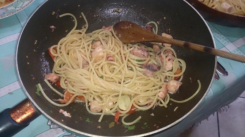 spaghetti polpo e peroncino4
