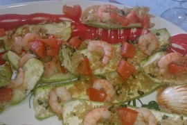zucchine-gamberetti-gratin